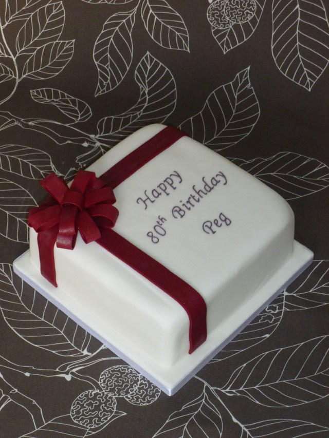 80Th Birthday Cakes 80th Cake Baking Obsession In 2018 Pinterest 80