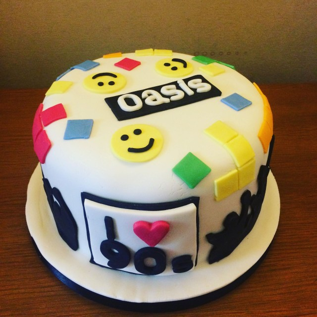 90S Birthday Cake 90s Theme Birthday Cake Celebrations And Events In 2018