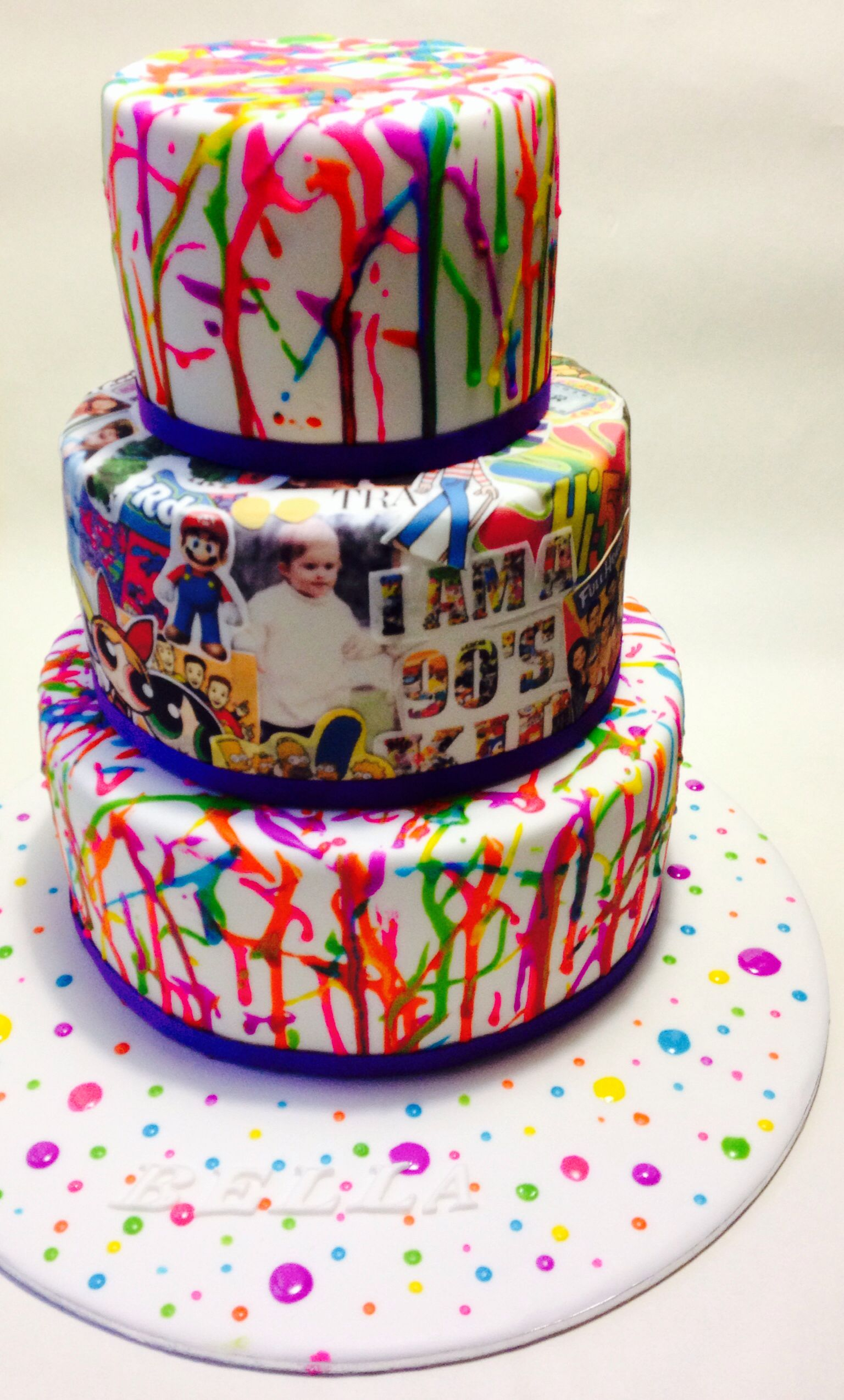 Tremendous 21 Best Photo Of 90S Birthday Cake Birijus Com Personalised Birthday Cards Beptaeletsinfo