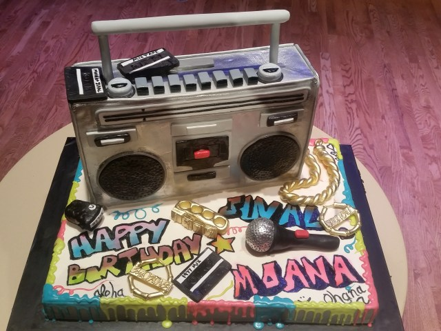 90S Birthday Cake Custom Birthday Cakes Laurie Clarke Cakes Portland Or