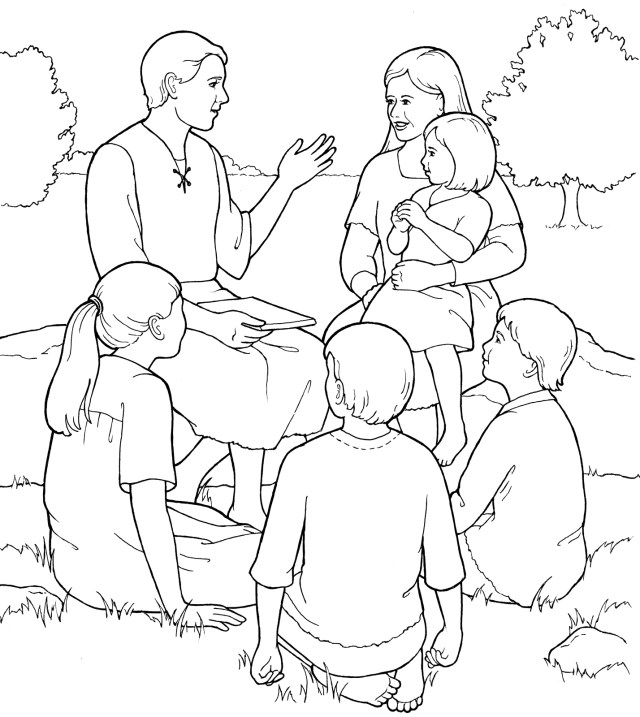 23+ Best Picture of Adam And Eve Coloring Pages - birijus.com
