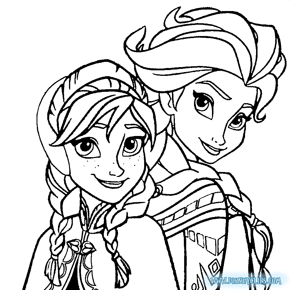 - 23+ Inspired Picture Of Anna And Elsa Coloring Pages - Birijus.com