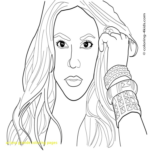 Ariana Grande Coloring Pages Ariana Grande Coloring Pages Ariana Grande Coloring Pages With Best