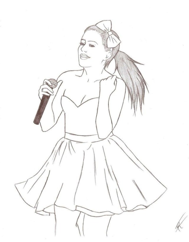 Ariana Grande Coloring Pages Related Ariana Grande Coloring Pages Item 22630 Ariana Grande