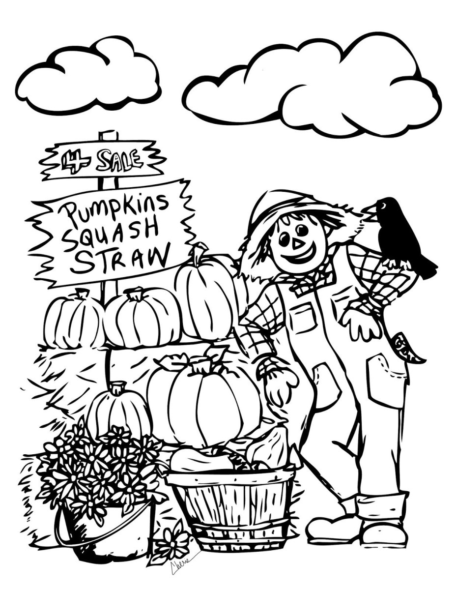 Autumn Coloring Pages Free Printable Autumn Coloring Pages
