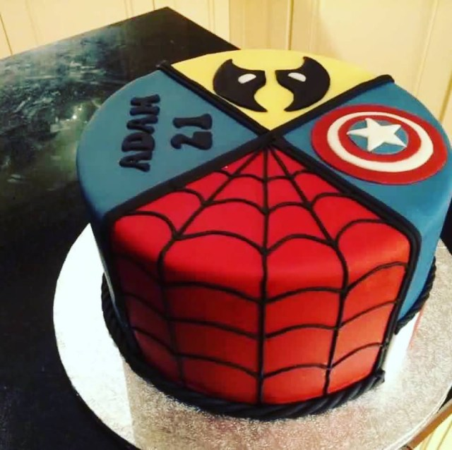 Avengers Birthday Cake 28 Birthday Cakes And Wishes Images For Whatsapp Status The Ask Idea