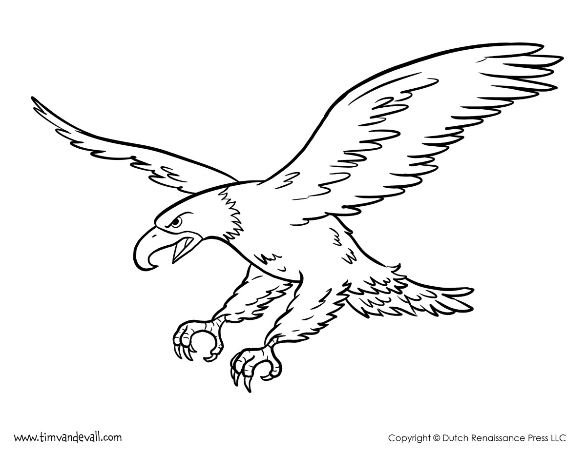 - Bald Eagle Coloring Page Eagle Coloring Pages New Letter E