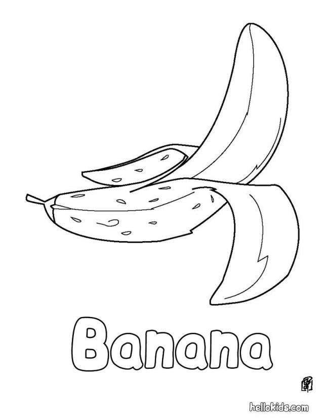 Minions Clipart Black And White - Minions For Coloring Banana ... | 827x640