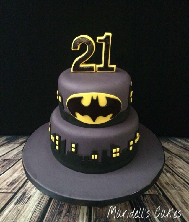 Batman Birthday Cakes Batman 21st Birthday Cake Maridells Cakes Pinterest Birthday