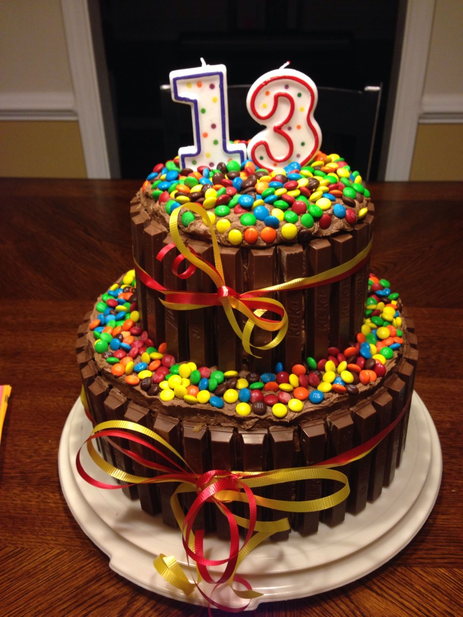 Sensational Birthday Cake For 12 Year Old Boy Decided To Try This For My Sons Funny Birthday Cards Online Overcheapnameinfo