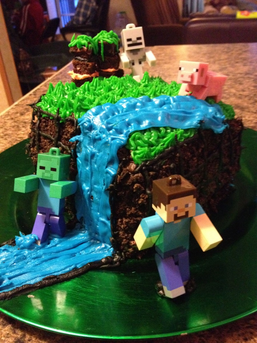 Prime Birthday Cake For 12 Year Old Boy Minecraft Cake For My 12 Year Funny Birthday Cards Online Sheoxdamsfinfo