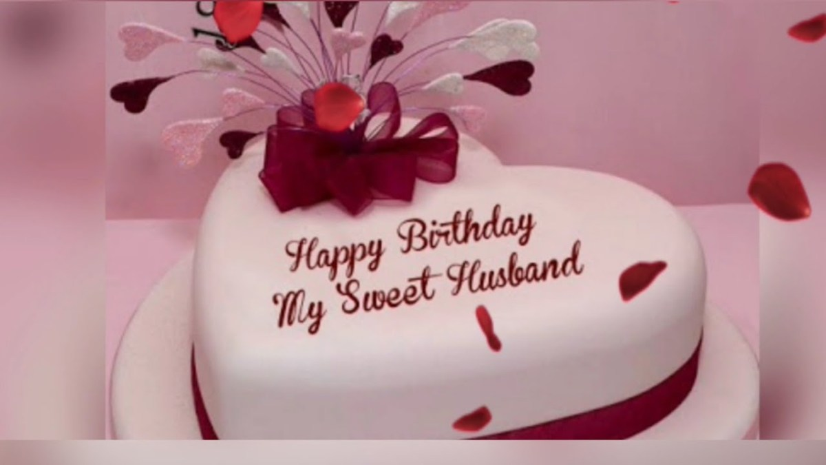 Swell Birthday Cake For Husband 8 Romantic Birthday Cake Wishes For Funny Birthday Cards Online Overcheapnameinfo