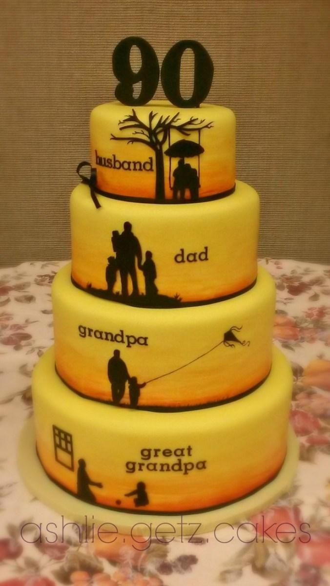 Swell Birthday Cake For Husband Best 25 40Th Cake Ideas On Pinterest 40 Funny Birthday Cards Online Inifofree Goldxyz