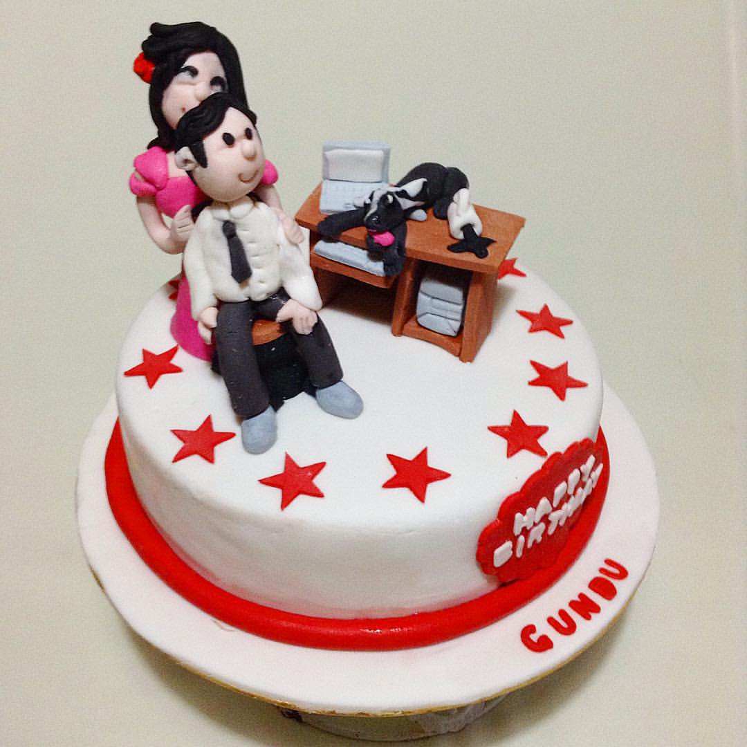 Birthday Cake For Husband Happy 6 Photo Pictures Images And