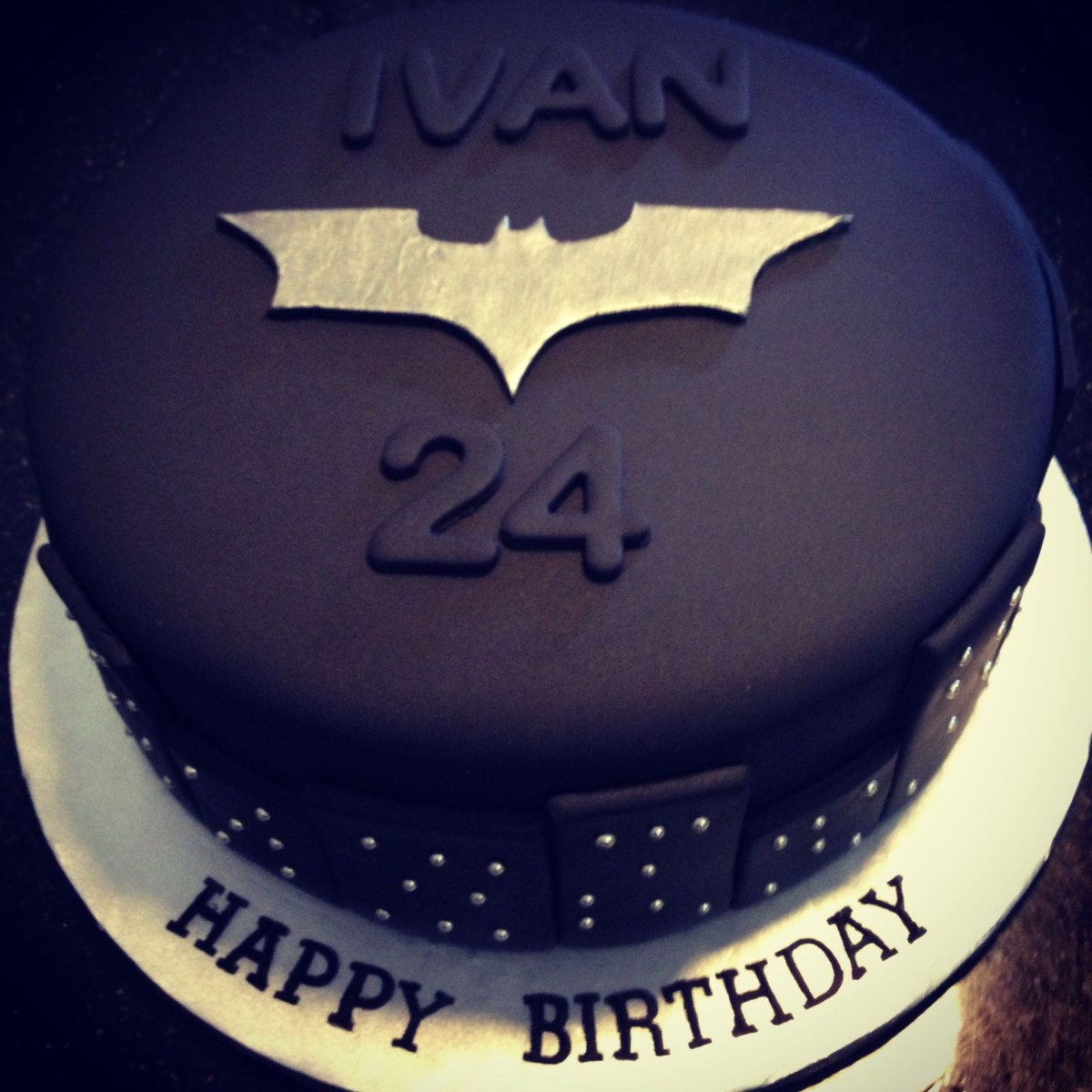 Peachy Birthday Cake For Husband My Husbands The Dark Knight Batman Funny Birthday Cards Online Eattedamsfinfo