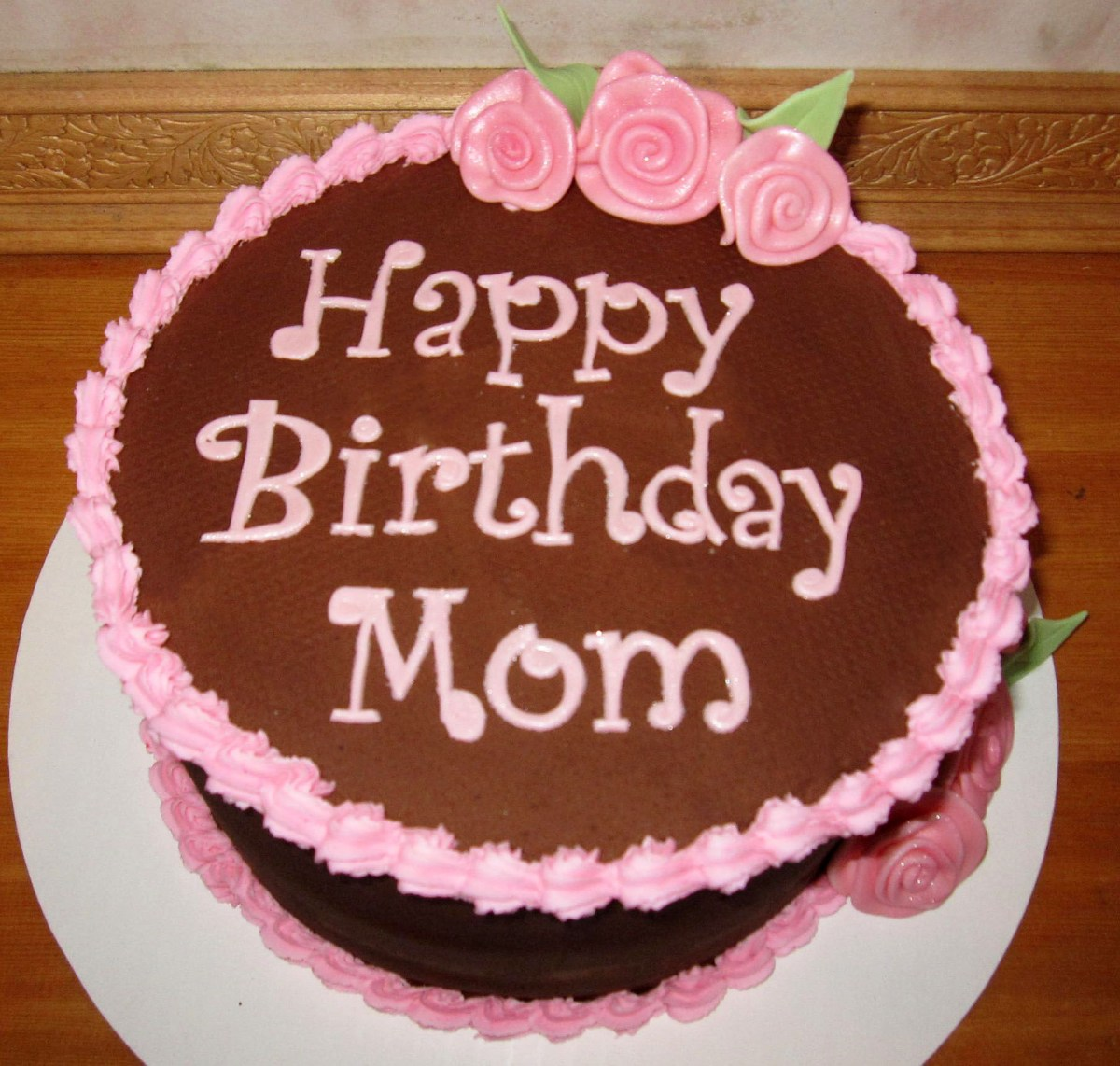 Magnificent Birthday Cake For Mom Birthday Cake For Momsmooth Chocolate Funny Birthday Cards Online Elaedamsfinfo