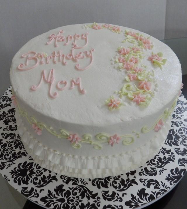 Birthday Cake For Mom Simple Birthday Cake For Mom Buttercream Cake Designs Pinterest