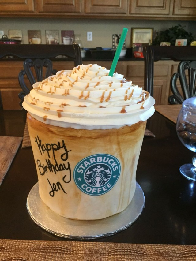 Birthday Cake Frappe Caramel Macchiato Starbucks Starbucks Cake Birthday Cake Themed