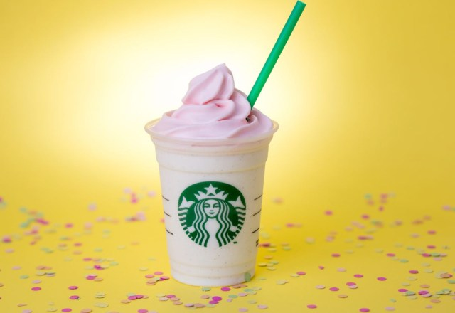 Birthday Cake Frappe Starbucks Birthday Cake Frappuccino Returns Starbucks Newsroom