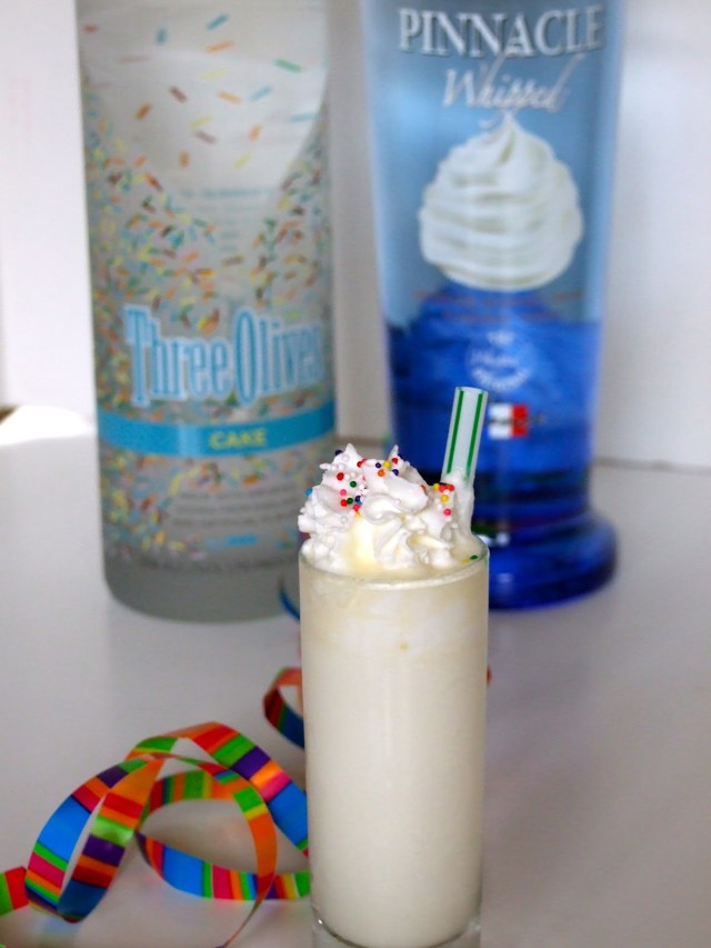 Birthday Cake Frappe The Good Life Gourmet Birthday Cake Shots