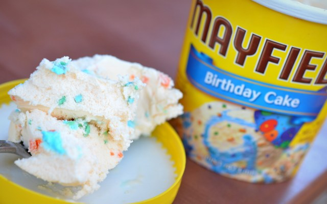 Birthday Cake Ice Cream Food And Ice Cream Recipes Review Mayfield Birthday Cake