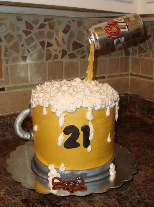 Birthday Cake In A Mug Beer Mug Birthday Cake Cakecentral