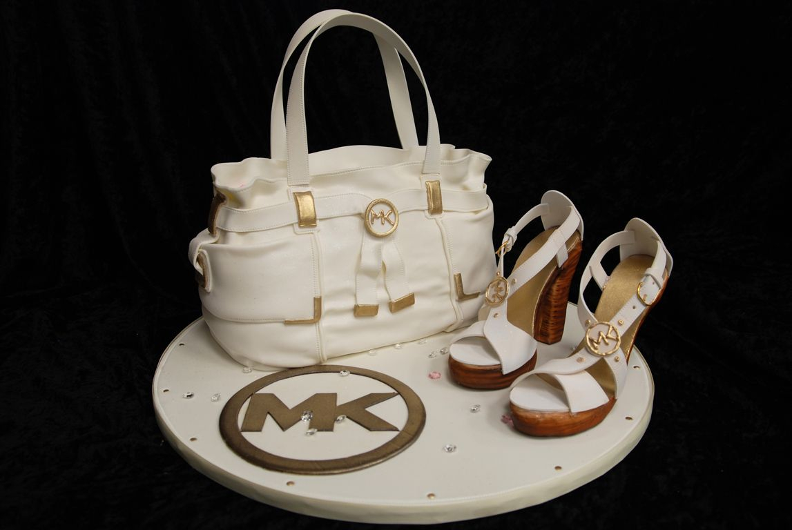Birthday Cake Toppers Michaels Michael Kors Purse And Shoe Fabulous My 25