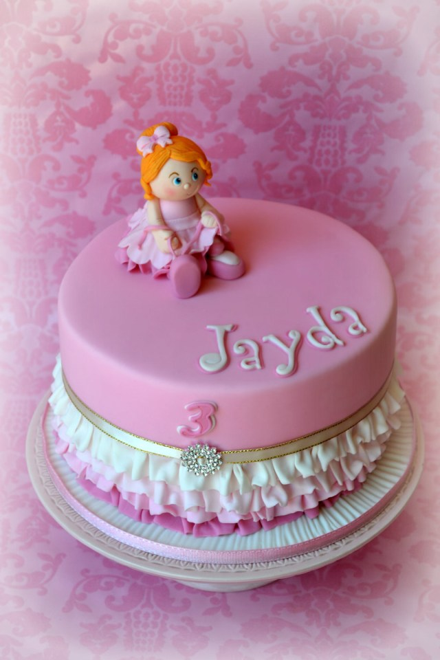 Birthday Cakes For Little Girls Birthday Cake For A Little Girl Who Loves To Dance The Only Request