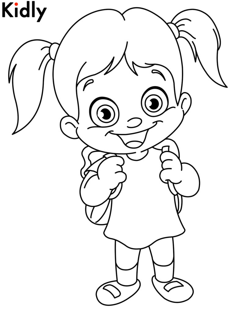 Boy And Girl Coloring Pages Coloring Pages Girl Coloring Pages Enchanting Coloring Pages For Birijus Com