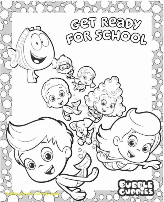 Bubble Coloring Pages Bubble Guppies Coloring Pages 32 With Bubble Guppies Coloring Pages