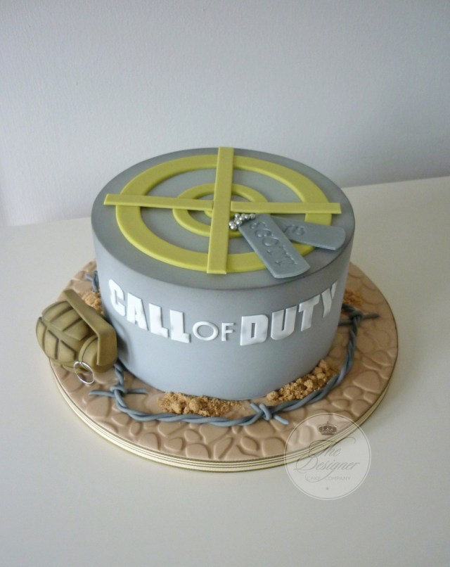 Call Of Duty Birthday Cake Call Of Duty Birthday Cake Isabelle Bambridge Flickr