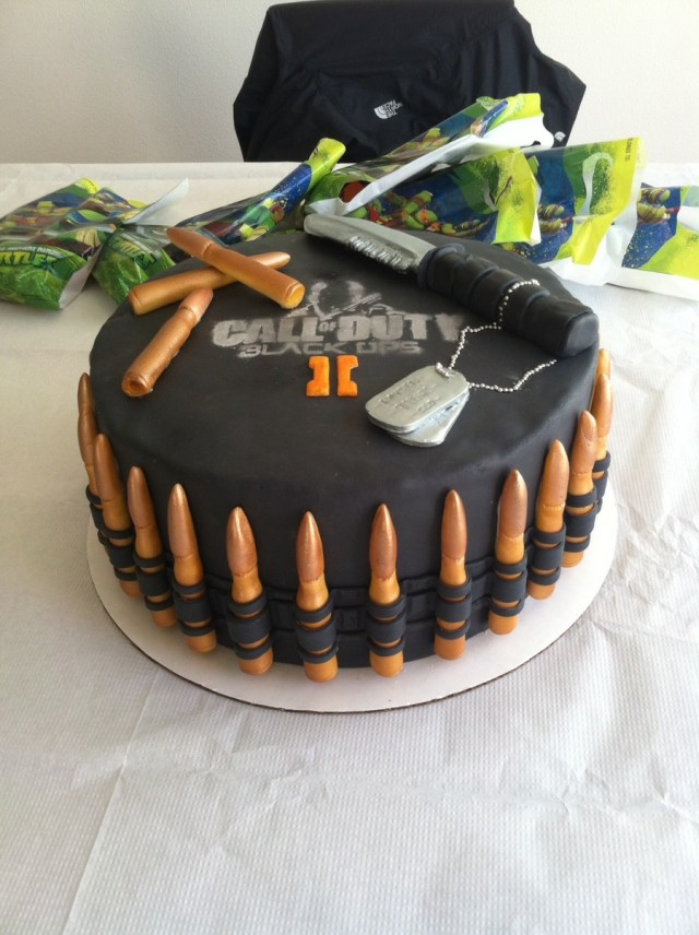 Call Of Duty Birthday Cake Call Of Duty Black Ops 2 Birthday Cake Cakecentral