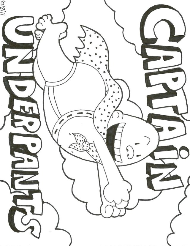Captain Underpants Coloring Pages Free Printable Coloring Pages Captain Underpants Glandigoart