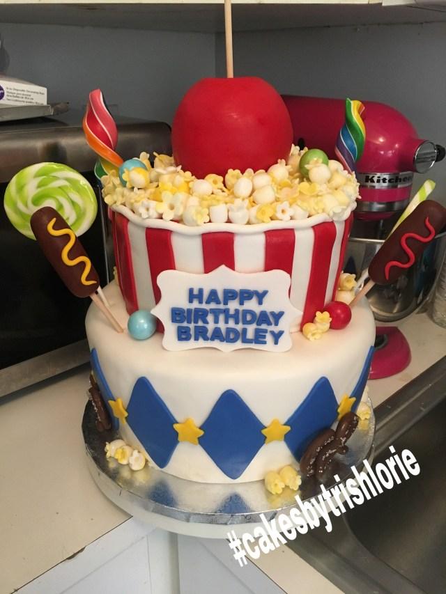 Carnival Birthday Cake Carnival Birthday Cake Cakes Trish Lorie In 2018 Pinterest