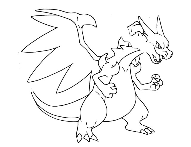 Charizard Coloring Pages Pokemon Coloring Pages X And Y Mega Evolution Unique Mega Charizard