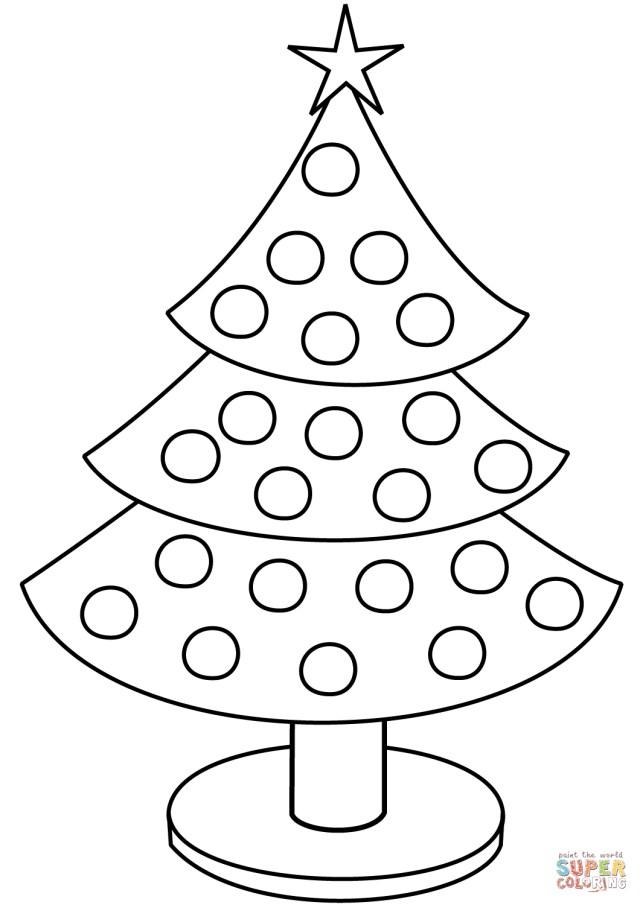 Christmas Tree Coloring Page Free Christmas Tree Coloring Page Free Printable Coloring Pages