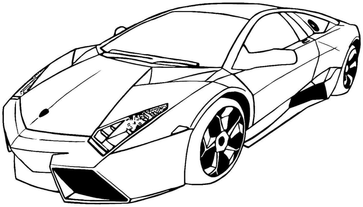 Lamborghini Supercars Coloring Pages - automotive wallpaper