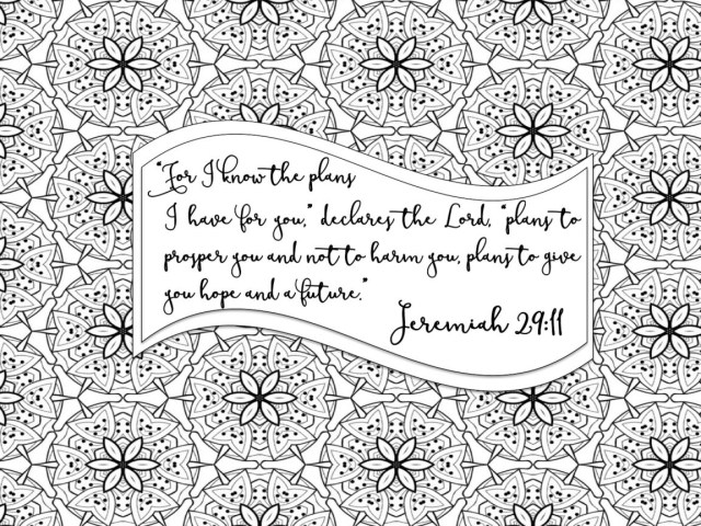 Coloring Pages For Adults Pdf Free Printable Bible Verse Coloring Pages With Bursting Blossoms