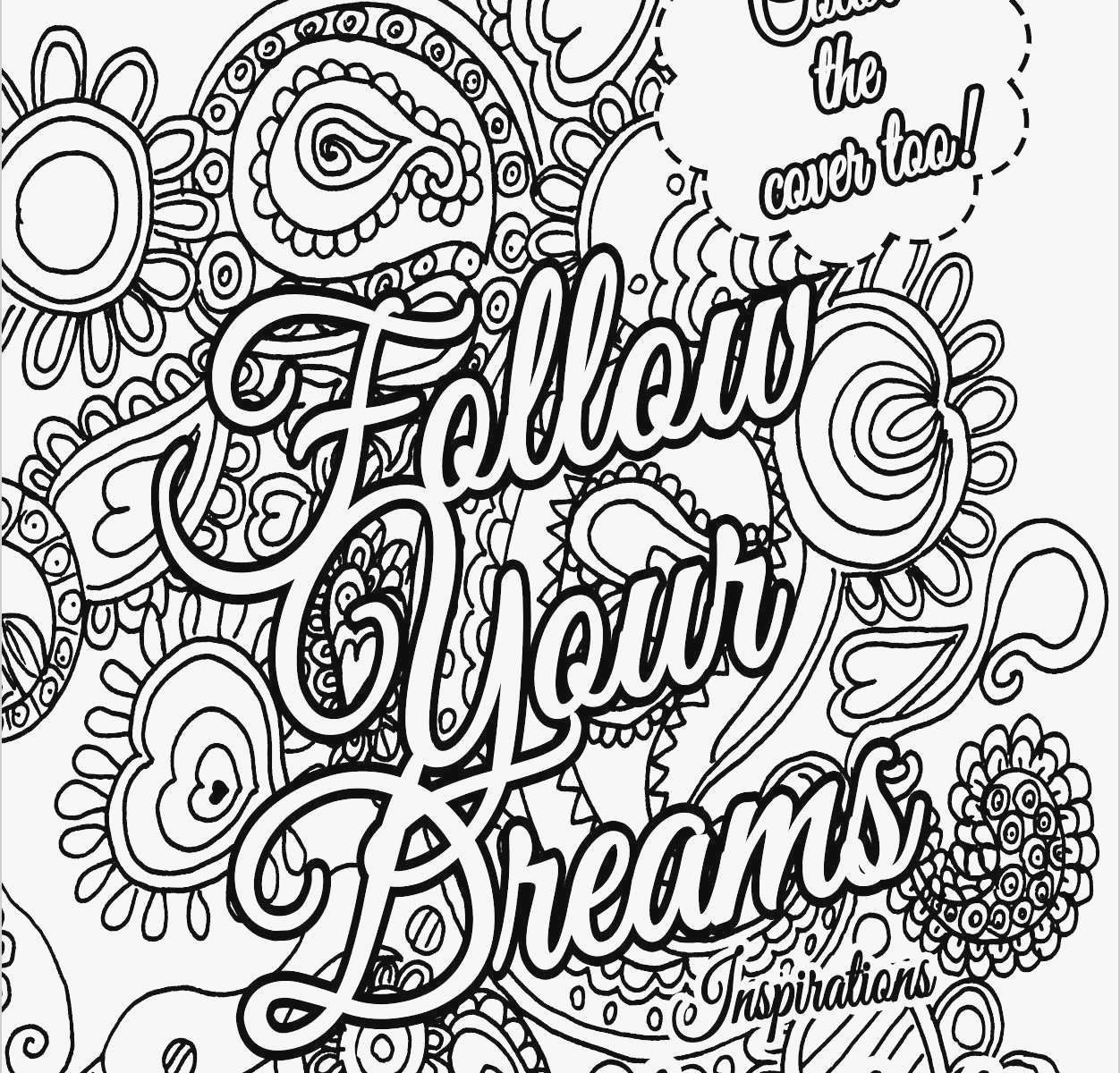 This is an image of Unforgettable Free Printable Adult Coloring Pages Quotes