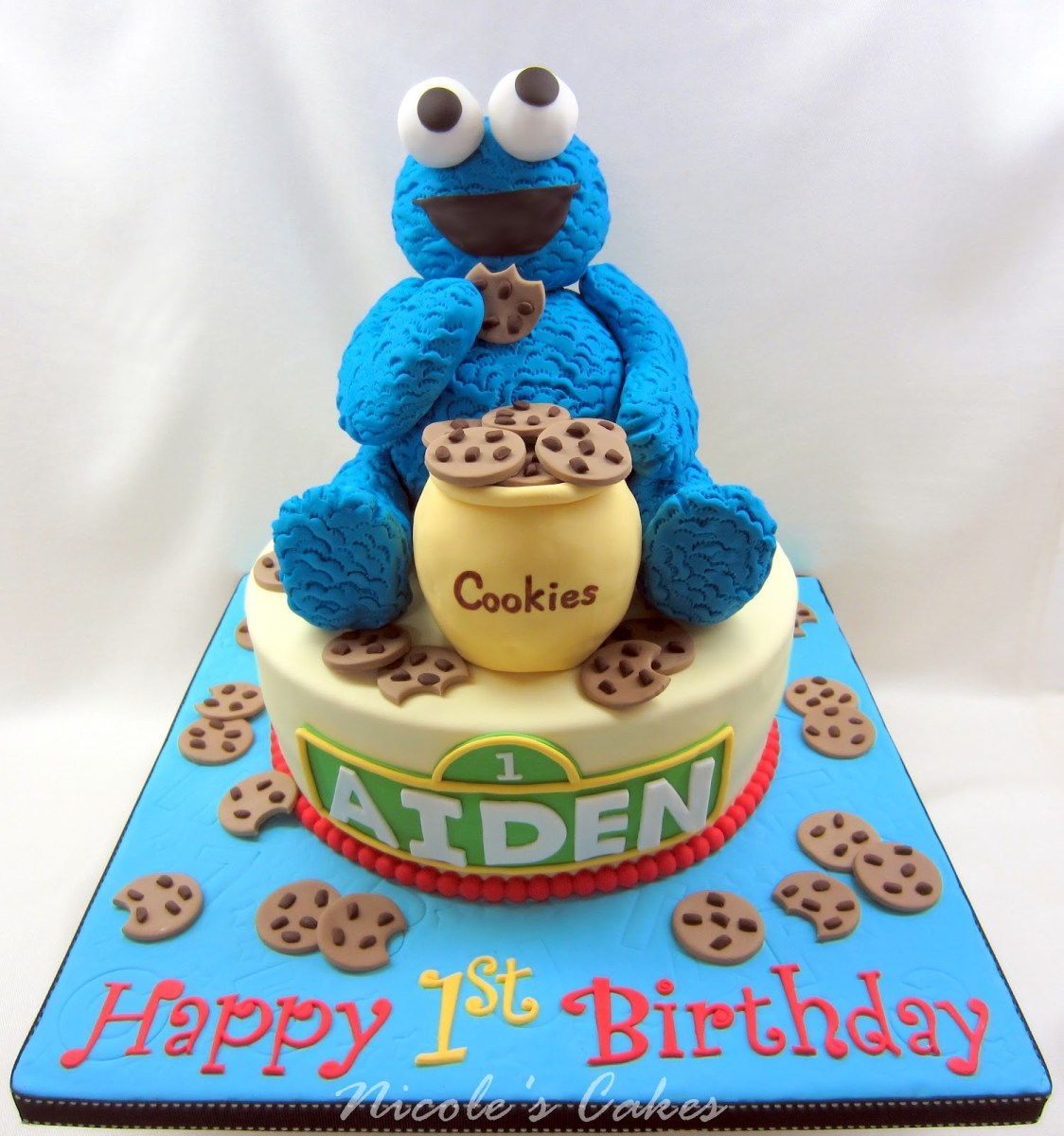 Strange Cookie Birthday Cake Cookie Birthday Cakes Birijus Com Funny Birthday Cards Online Overcheapnameinfo