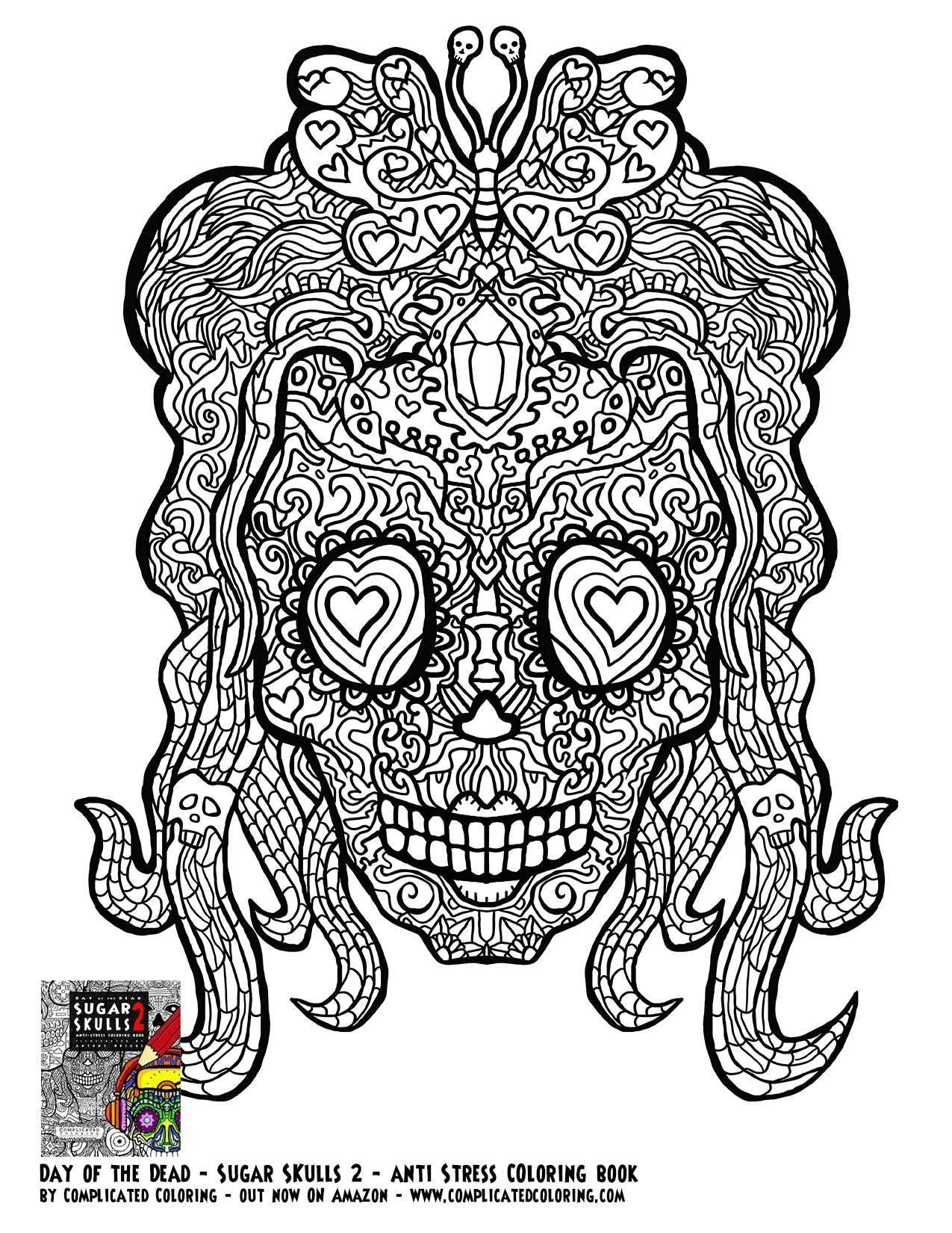 - Cool Coloring Pages Complicated Coloring Pages For Adults