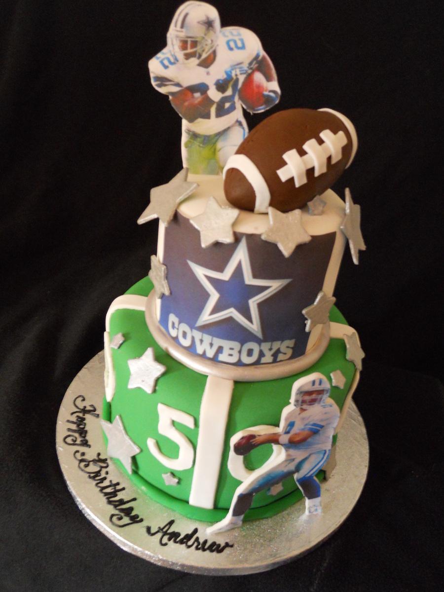 Excellent Cowboy Birthday Cake Dallas Cowboys Birthday Cake Cakecentral Funny Birthday Cards Online Alyptdamsfinfo