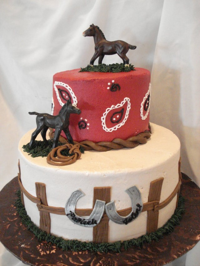 Cowboy Birthday Cake Horse Themed Cakes Google Search Decorating