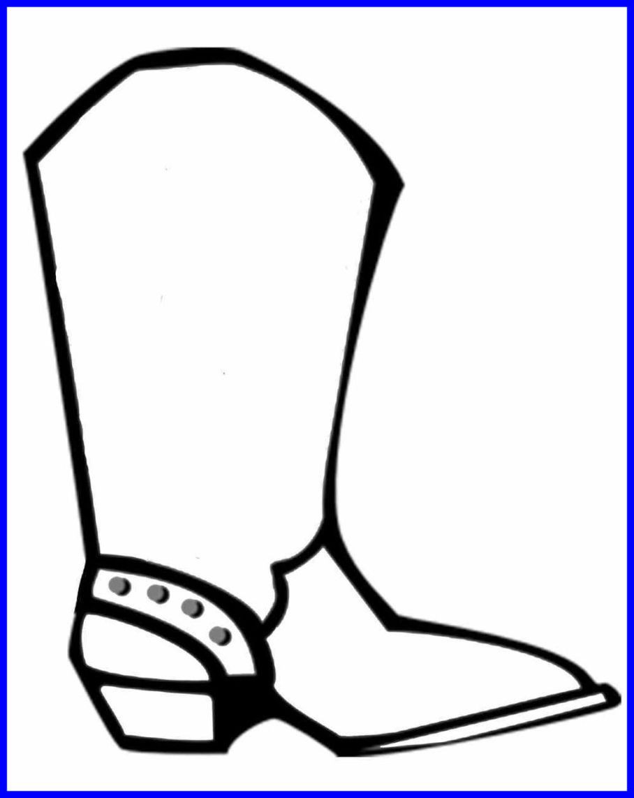 Cowboy Boot Coloring Page Cowboy Boot Coloring Page 14