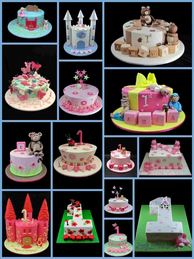Cute Birthday Cakes For Girl Simple Cake Design Ba Girls Personcentredplanning
