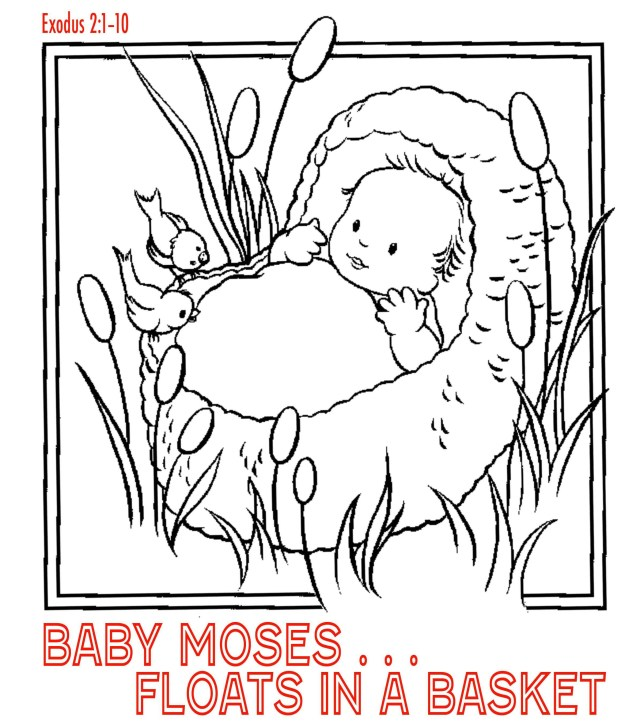Daniel And The Lions Den Coloring Page Daniel And The Lions Den Coloring Page Beautiful Ba Moses Coloring