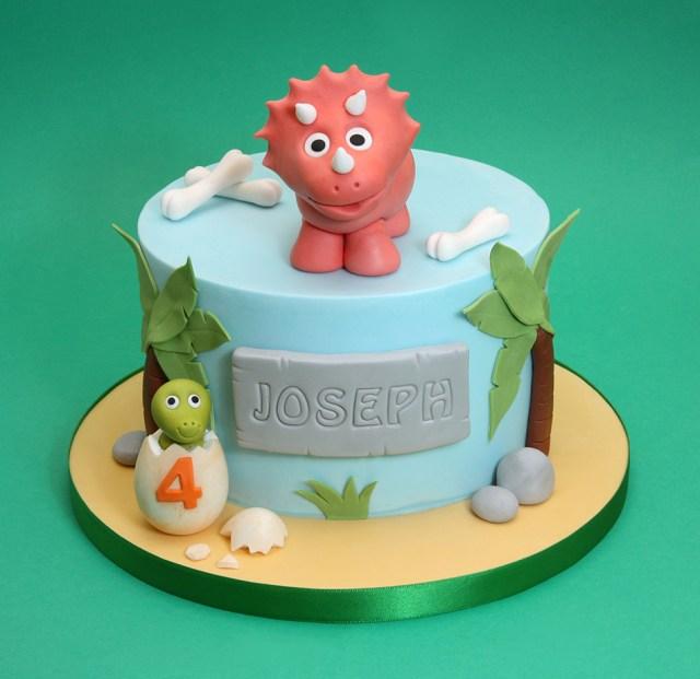 Dinosaur Birthday Cake Chris Dance Cakes