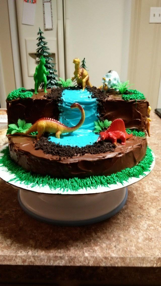 Dinosaur Birthday Cake Dinosaur Cake Cake Therapy Karen Kristin Pinterest