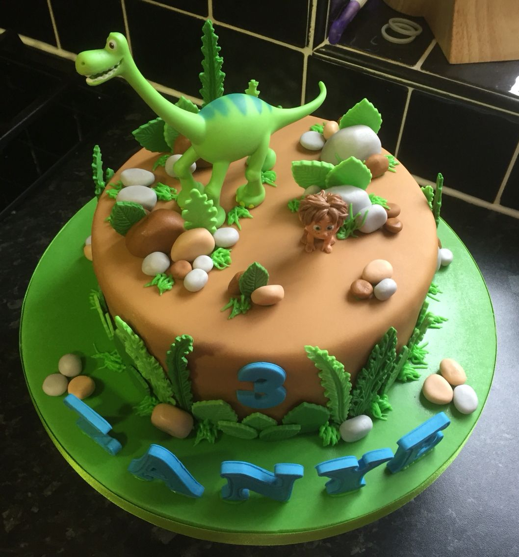 Swell Dinosaur Birthday Cake The Good Dinosaur Birthday Cake Torten In Funny Birthday Cards Online Alyptdamsfinfo