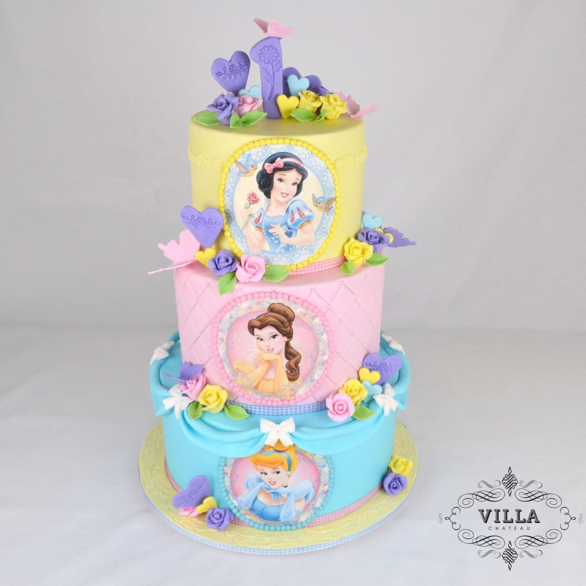 Astounding Disney Princess Birthday Cakes Disney Princess Birthday Cake Personalised Birthday Cards Bromeletsinfo